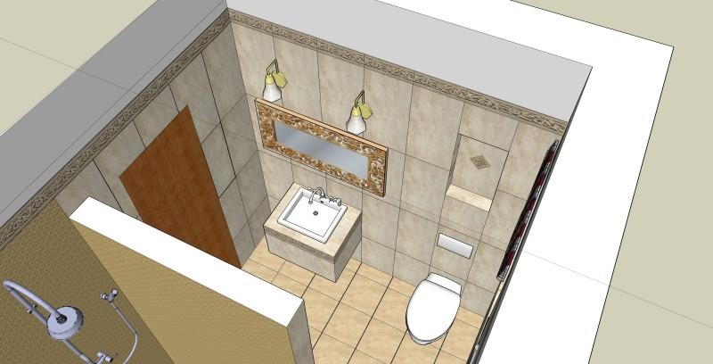 Projekt łazienki W Domu Jednorodzinnym Wzorcownia By Agata Traut